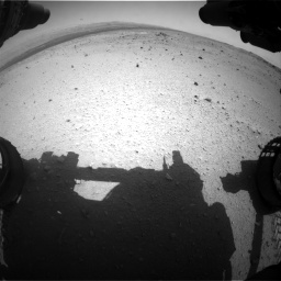 Nasa's Mars rover Curiosity acquired this image using its Front Hazard Avoidance Camera (Front Hazcam) on Sol 376, at drive 330, site number 14
