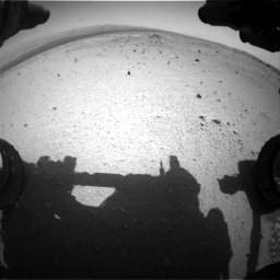 Nasa's Mars rover Curiosity acquired this image using its Front Hazard Avoidance Camera (Front Hazcam) on Sol 376, at drive 336, site number 14