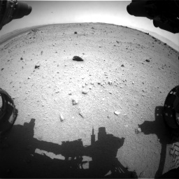 Nasa's Mars rover Curiosity acquired this image using its Front Hazard Avoidance Camera (Front Hazcam) on Sol 376, at drive 390, site number 14