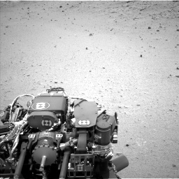Nasa's Mars rover Curiosity acquired this image using its Left Navigation Camera on Sol 376, at drive 288, site number 14