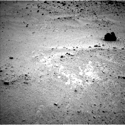 Nasa's Mars rover Curiosity acquired this image using its Left Navigation Camera on Sol 376, at drive 294, site number 14