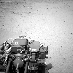 Nasa's Mars rover Curiosity acquired this image using its Left Navigation Camera on Sol 376, at drive 330, site number 14