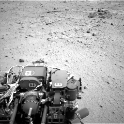 Nasa's Mars rover Curiosity acquired this image using its Left Navigation Camera on Sol 376, at drive 396, site number 14