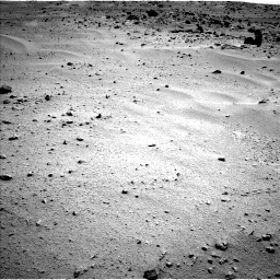 Nasa's Mars rover Curiosity acquired this image using its Left Navigation Camera on Sol 376, at drive 408, site number 14