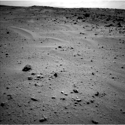 Nasa's Mars rover Curiosity acquired this image using its Left Navigation Camera on Sol 376, at drive 438, site number 14