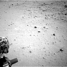 Nasa's Mars rover Curiosity acquired this image using its Right Navigation Camera on Sol 376, at drive 378, site number 14
