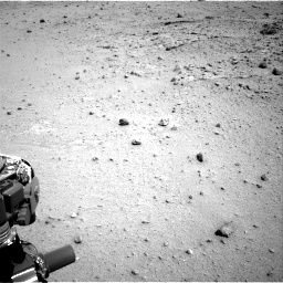 Nasa's Mars rover Curiosity acquired this image using its Right Navigation Camera on Sol 376, at drive 384, site number 14