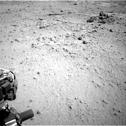 Nasa's Mars rover Curiosity acquired this image using its Right Navigation Camera on Sol 376, at drive 408, site number 14