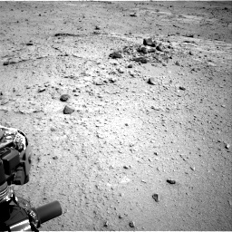 Nasa's Mars rover Curiosity acquired this image using its Right Navigation Camera on Sol 376, at drive 438, site number 14