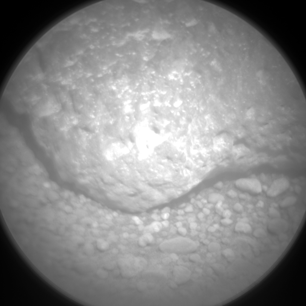 Nasa's Mars rover Curiosity acquired this image using its Chemistry & Camera (ChemCam) on Sol 377, at drive 454, site number 14