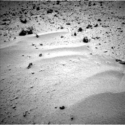 Nasa's Mars rover Curiosity acquired this image using its Left Navigation Camera on Sol 377, at drive 484, site number 14