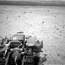 Nasa's Mars rover Curiosity acquired this image using its Left Navigation Camera on Sol 377, at drive 664, site number 14