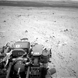 Nasa's Mars rover Curiosity acquired this image using its Left Navigation Camera on Sol 377, at drive 670, site number 14