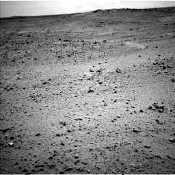 NASA's Mars rover Curiosity acquired this image using its Left Navigation Camera (Navcams) on Sol 377