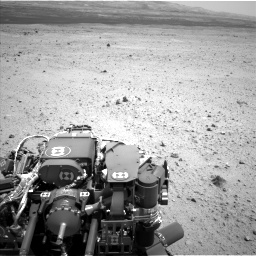 Nasa's Mars rover Curiosity acquired this image using its Left Navigation Camera on Sol 377, at drive 682, site number 14