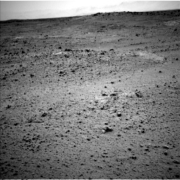Nasa's Mars rover Curiosity acquired this image using its Left Navigation Camera on Sol 377, at drive 688, site number 14