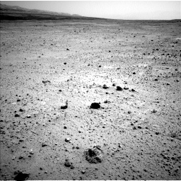 Nasa's Mars rover Curiosity acquired this image using its Left Navigation Camera on Sol 377, at drive 694, site number 14