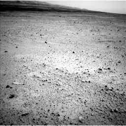 Nasa's Mars rover Curiosity acquired this image using its Left Navigation Camera on Sol 377, at drive 766, site number 14