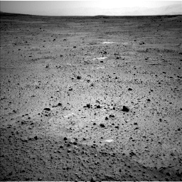 Nasa's Mars rover Curiosity acquired this image using its Left Navigation Camera on Sol 377, at drive 772, site number 14