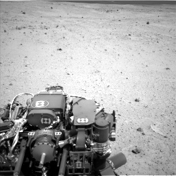 Nasa's Mars rover Curiosity acquired this image using its Left Navigation Camera on Sol 377, at drive 778, site number 14