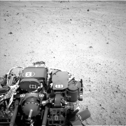 Nasa's Mars rover Curiosity acquired this image using its Left Navigation Camera on Sol 377, at drive 796, site number 14