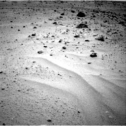 Nasa's Mars rover Curiosity acquired this image using its Right Navigation Camera on Sol 377, at drive 526, site number 14