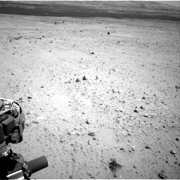 Nasa's Mars rover Curiosity acquired this image using its Right Navigation Camera on Sol 377, at drive 694, site number 14