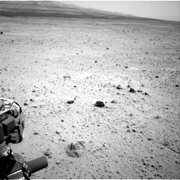 Nasa's Mars rover Curiosity acquired this image using its Right Navigation Camera on Sol 377, at drive 700, site number 14