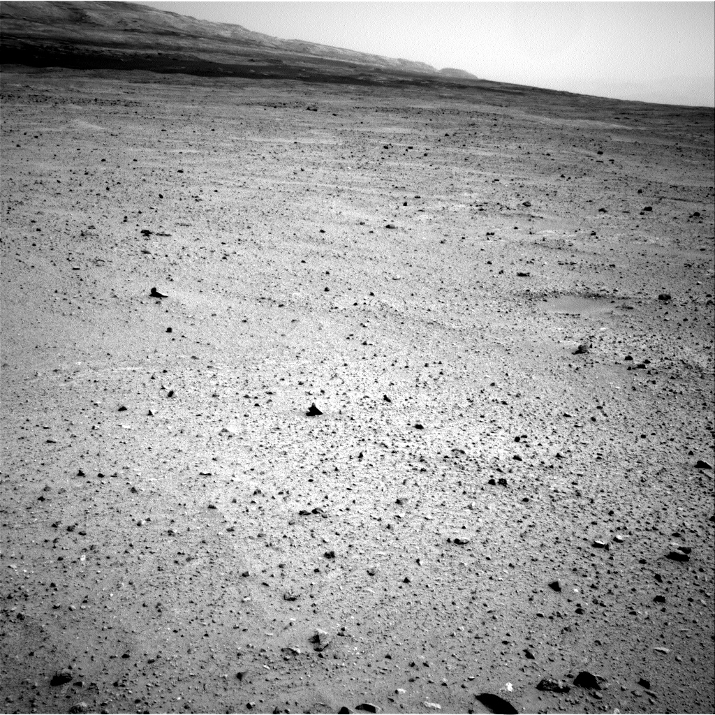 Nasa's Mars rover Curiosity acquired this image using its Right Navigation Camera on Sol 377, at drive 800, site number 14