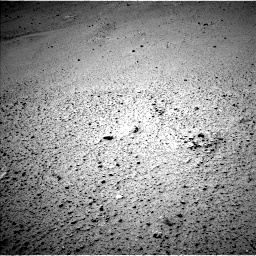 Nasa's Mars rover Curiosity acquired this image using its Left Navigation Camera on Sol 378, at drive 1100, site number 14
