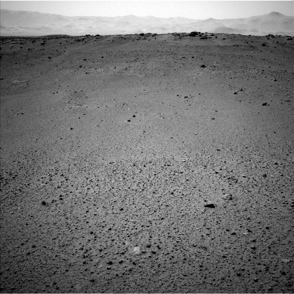 Nasa's Mars rover Curiosity acquired this image using its Left Navigation Camera on Sol 378, at drive 1132, site number 14