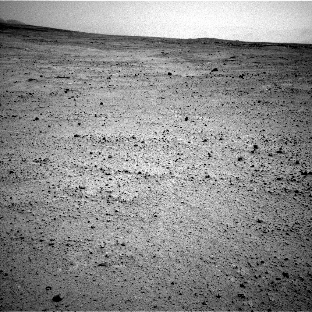 Nasa's Mars rover Curiosity acquired this image using its Left Navigation Camera on Sol 379, at drive 1262, site number 14