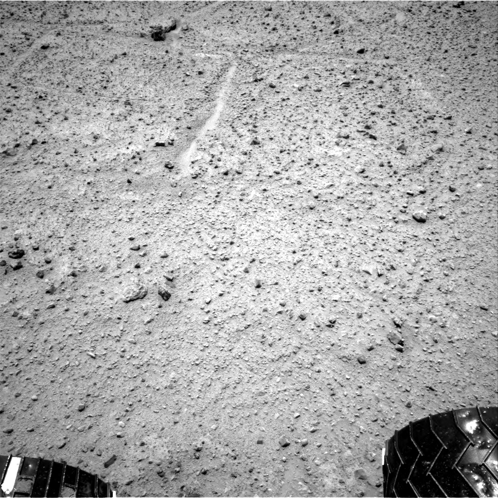 NASA's Mars rover Curiosity acquired this image using its Right Navigation Cameras (Navcams) on Sol 379