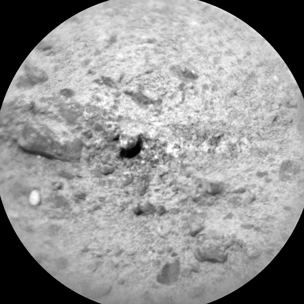 Nasa's Mars rover Curiosity acquired this image using its Chemistry & Camera (ChemCam) on Sol 379, at drive 1132, site number 14