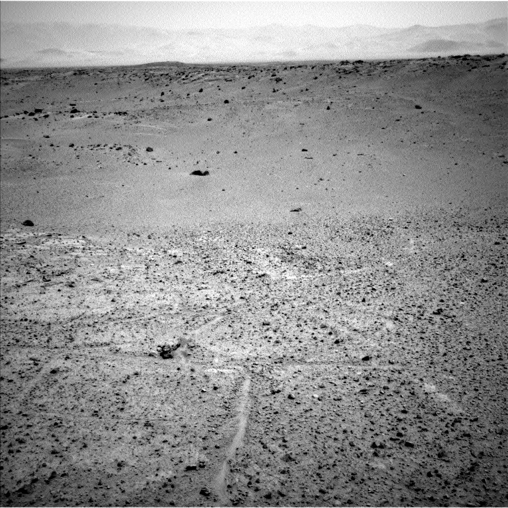 NASA's Mars rover Curiosity acquired this image using its Left Navigation Camera (Navcams) on Sol 380