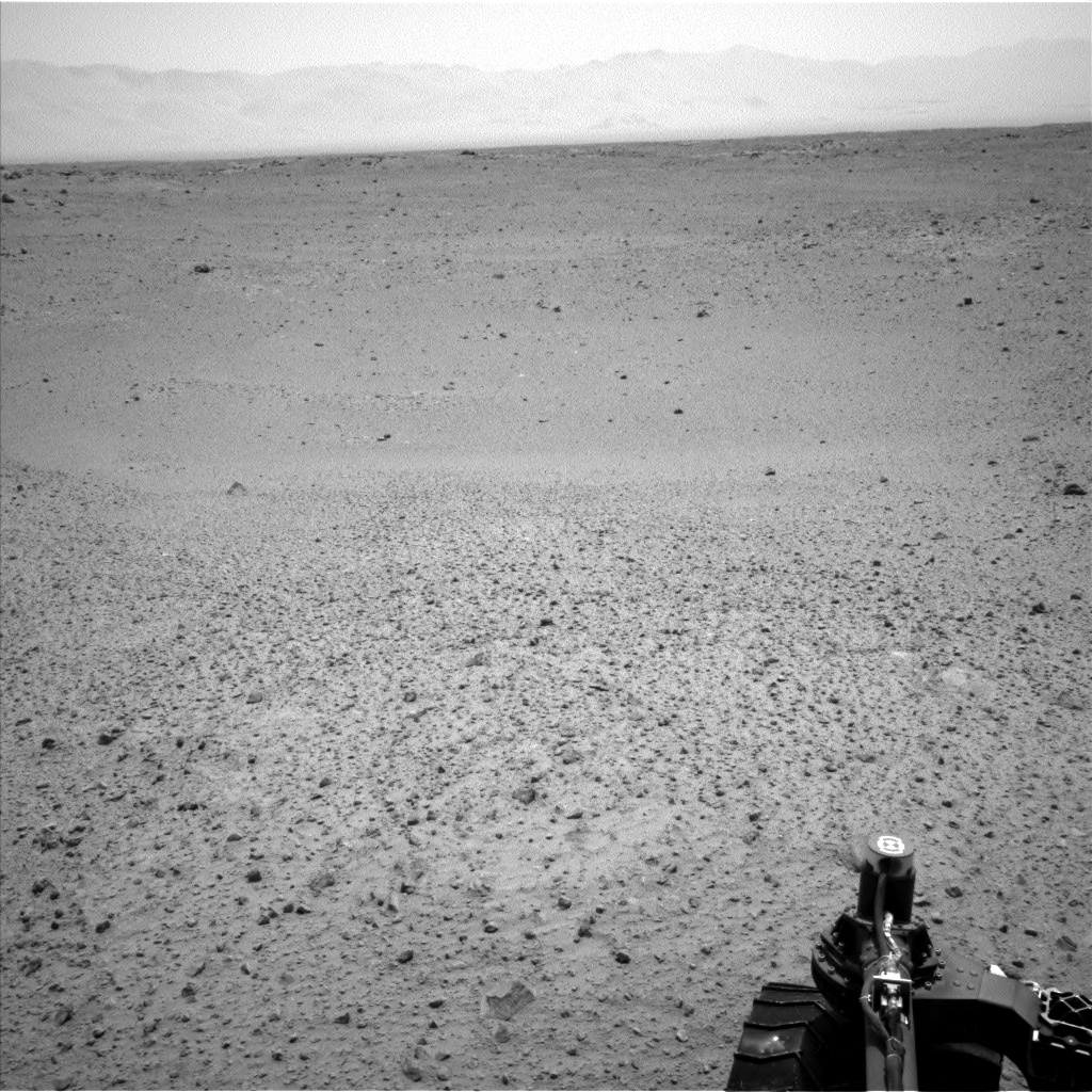 Nasa's Mars rover Curiosity acquired this image using its Left Navigation Camera on Sol 380, at drive 1262, site number 14