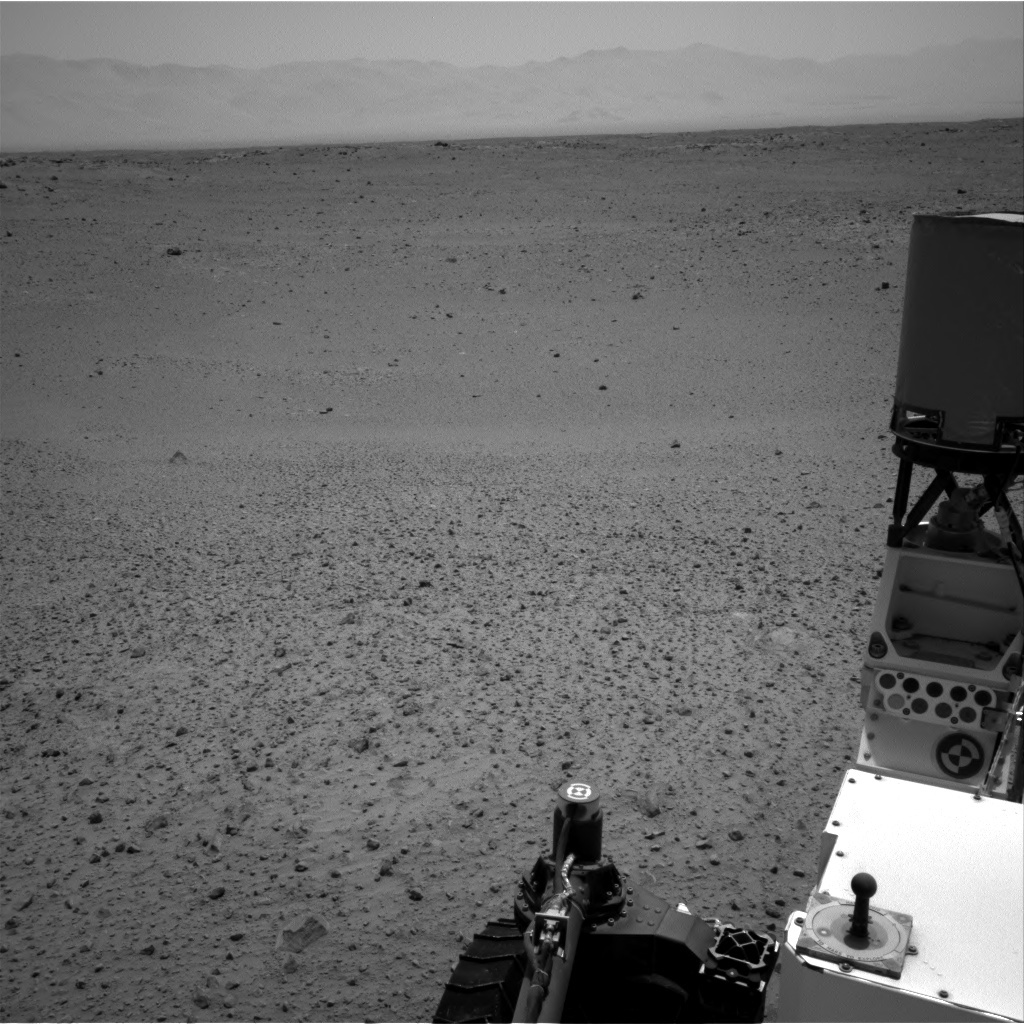 NASA's Mars rover Curiosity acquired this image using its Right Navigation Cameras (Navcams) on Sol 380