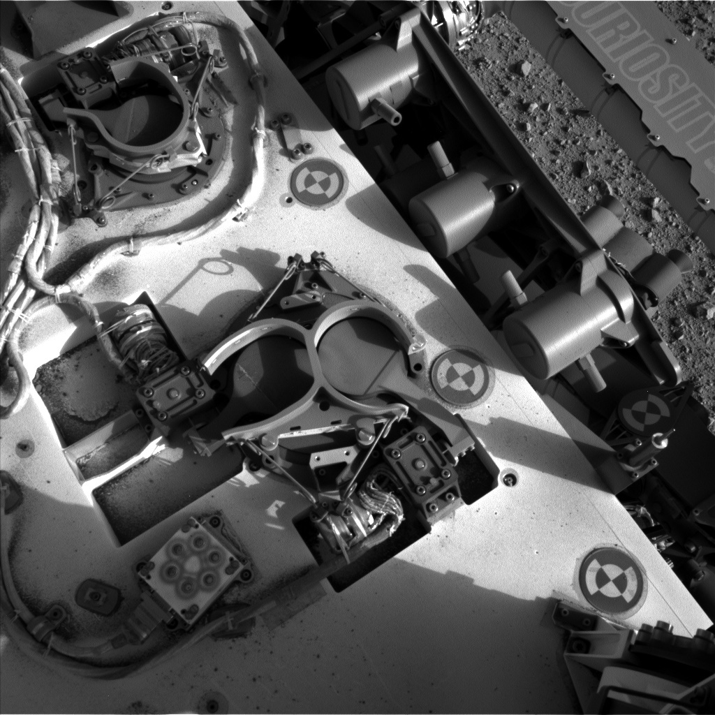 NASA's Mars rover Curiosity acquired this image using its Left Navigation Camera (Navcams) on Sol 381