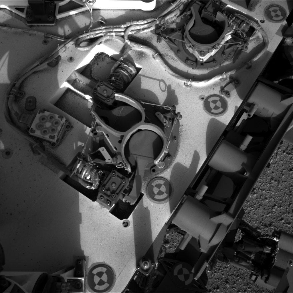 NASA's Mars rover Curiosity acquired this image using its Right Navigation Cameras (Navcams) on Sol 381