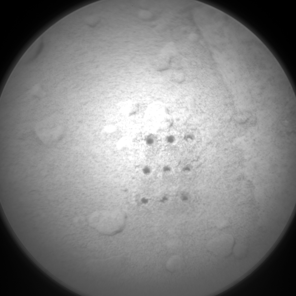 NASA's Mars rover Curiosity acquired this image using its Chemistry & Camera (ChemCam) on Sol 382