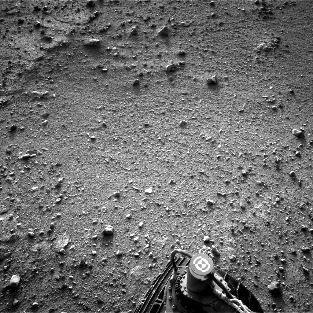 Nasa's Mars rover Curiosity acquired this image using its Left Navigation Camera on Sol 383, at drive 0, site number 15