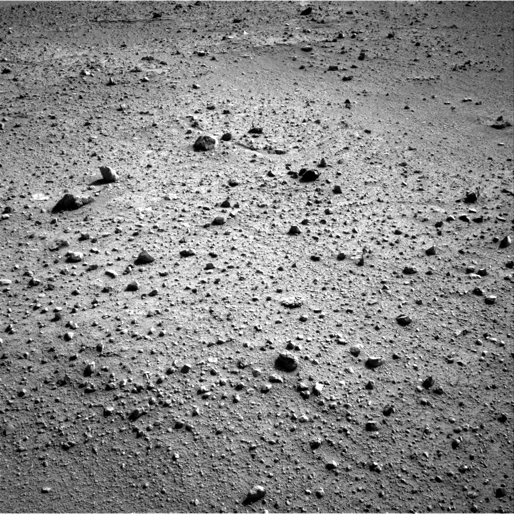Nasa's Mars rover Curiosity acquired this image using its Right Navigation Camera on Sol 383, at drive 1388, site number 14