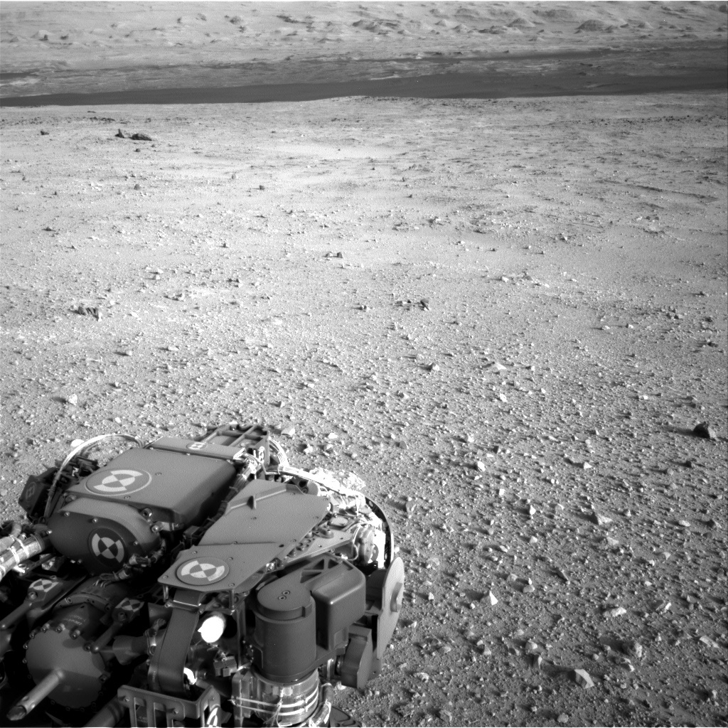 NASA's Mars rover Curiosity acquired this image using its Right Navigation Cameras (Navcams) on Sol 383