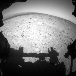 Nasa's Mars rover Curiosity acquired this image using its Front Hazard Avoidance Camera (Front Hazcam) on Sol 385, at drive 630, site number 15