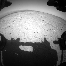 Nasa's Mars rover Curiosity acquired this image using its Front Hazard Avoidance Camera (Front Hazcam) on Sol 385, at drive 486, site number 15