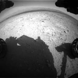 Nasa's Mars rover Curiosity acquired this image using its Front Hazard Avoidance Camera (Front Hazcam) on Sol 385, at drive 900, site number 15