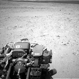 Nasa's Mars rover Curiosity acquired this image using its Left Navigation Camera on Sol 385, at drive 468, site number 15