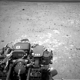 Nasa's Mars rover Curiosity acquired this image using its Left Navigation Camera on Sol 385, at drive 522, site number 15