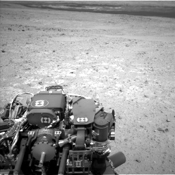 Nasa's Mars rover Curiosity acquired this image using its Left Navigation Camera on Sol 385, at drive 756, site number 15