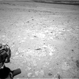 Nasa's Mars rover Curiosity acquired this image using its Right Navigation Camera on Sol 385, at drive 738, site number 15